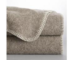 La Redoute Interieurs - Couverture pure laine ROMU . Beige La Redoute Interieurs