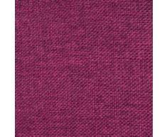 Madura Voilage à oeillets CINNAMON Bordeaux 145x280 cm Rose Madura