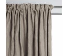 AM.PM - Rideau doublé pur lin à plis flamands Colin . Marron AM.PM.
