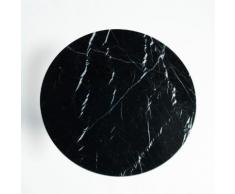 AM.PM - Plateau de table bistrot marbre Ø75 cm, Aradan . Noir AM.PM.
