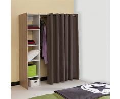 La Redoute Interieurs - Dressing penderie/1 colonne, 4 étagères, Reynal . Beige La Redoute Interieurs
