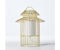 AM.PM - Lampe à poser enfant cage à oiseau Cuicuicui . Gris AM.PM.