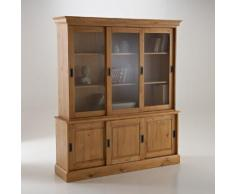 La Redoute Interieurs - Buffet vaisselier, pin massif, Authentic Style . Noir La Redoute Interieurs