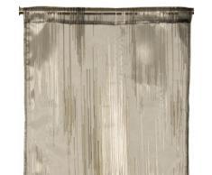 Madura Voilage de vitrages NEO Gris foncé 46x318 cm Gris Madura