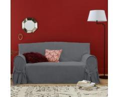Housse de canapé lin/coton JIMI . Gris La Redoute Interieurs