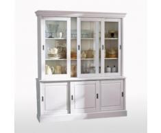 La Redoute Interieurs - Buffet-vaisselier, pin massif, Authentic Style . Blanc La Redoute Interieurs