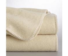 La Redoute Interieurs - Couverture pure laine ROMU . Blanc La Redoute Interieurs