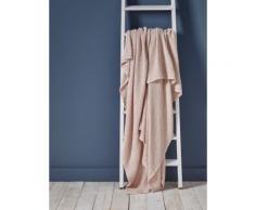 CYRILLUS Couvre-lit en coton gaufré Rose Cyrillus