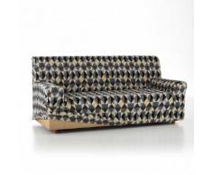 Housse fauteuil canapé extensible Anne - gris