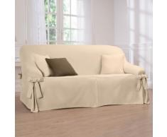 Housse canapé nouettes préformée bachette - écru