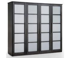 Armoire 4 portes, dressing, pin, H180 cm, Bolton - La Redoute Interieurs