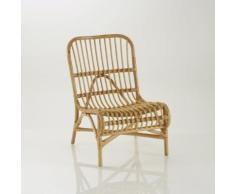Chaise ou fauteuil d'appoint canne de rotin, Malu - La Redoute Interieurs
