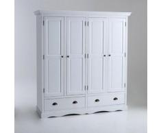 Armoire 4 portes, Authentic Style - La Redoute Interieurs