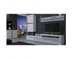 JUSThome FRESH Ensemble TV mural 186x291x47 cm Blanc