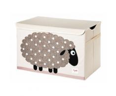 Coffre à jouets 3 Sprouts Mouton