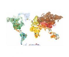 Sticker mural magnétique Janod Magneti'Stick Le Monde