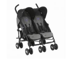 Poussette Double Echo Chicco Coal
