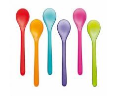 Set de 6 cuillères Koziol Rio multicolores