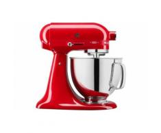 Robot patissier KitchenAid Artisan Rouge Passion 100 ans 5KSM180HESD