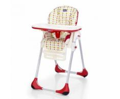 Chaise haute Chicco Polly Easy Sunrise Rouge et Blanc
