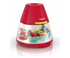 Veilleuse-projecteur 2 en1 Philips Disney Cars LED Rouge