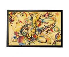 Vassily Kandinsky Paillasson Essuie-Pieds - Composition, 1917 (40x60 cm) - Tapis et paillasson