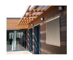 Store d'ombrage 100 x H 180 cm Sable - 165g/m² - Fenêtres et volets