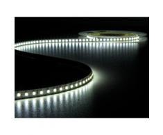 Flexible à led - blanc froid 6500k - 600 leds - 5 m - 24 v velleman lq24n150cw65n - Appliques et spots