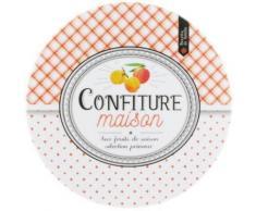 Dessous De Plat Mélamine Thème Confiture Abricot Orange - Autres