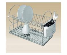 Wenko - Egouttoir à vaisselle - Duo - Ustensiles
