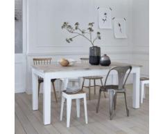 Table à manger en bois d'acajou et teck 8 à 10 couverts - Tables salle à manger
