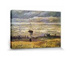 Vincent Van Gogh Poster Reproduction Sur Toile, Tendue Sur Châssis - Vue De La Plage De Scheveningen, 1882 (20x30 cm) - Décoration murale