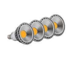 4x SET Showlite LED Spot E14W05K30D 5 Watt, 330 Lumen, base E14, 3000 Kelvin - Appliques et spots