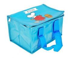 Lunch Bag Enfant Sac Repas Isotherme Mr Et Mme Costaud Bleu - Autres
