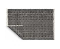Fabhabitat - Tapis intérieur extérieur Lancut noir 150 x 90 cm - Tapis et paillasson