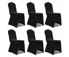 Housse extensible pour chaise 6 pièces pour salle à manger Modèle 3 - Objet à poser