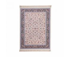 Tapis d'orient en acrylique ivoire isfahan - Tapis et paillasson