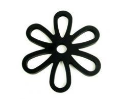 Yoko design 1206 dessous de plat magnétique silicone/platine noir 16 x 14,30 x 0,9 cm - Ustensiles