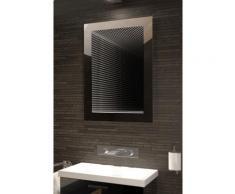 Miroir de salle de bain Infinity à reflet parfait avec éclairage DEL RVB K215Rgb - Miroir