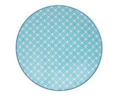 Table Passion - Assiette Plate Helyse 27Cm Vert (Lot De 6) - vaisselle