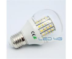 Ampoule LED 4G 60 LEDs SMD 3W éclairage naturel E27 - Ampoules à LEDs