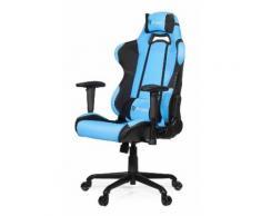 Arozzi TORRETTA Fauteuil Gaming pour Bureau Tissu Bleu Azur 151 x 54 x 50 cm - Sièges et fauteuils de bureau