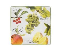 Table Passion - Plat Carre Frutty 34 Cm - vaisselle