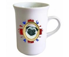 Tasse allongée pour le thé en céramique UK Carlin by Cbkreation - vaisselle