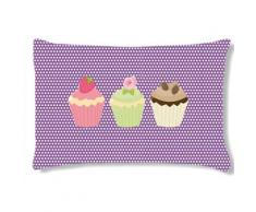 Coussin rectangulaire 3 CUPCAKES by Cbkreation - Rideaux et stores