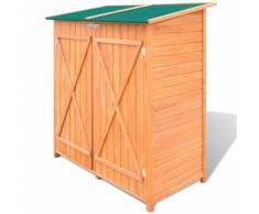 Abri de Jardin/ Grand Coffre de Rangement en Bois Jardin - Caissons et casiers de bureau