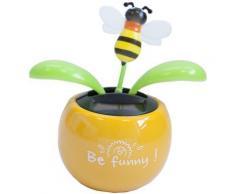 Plante Fleur Solaire Artificielle Dansante - jaune - funny - Objet à poser