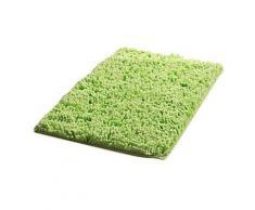 Tapis de bain rectangulaire à poils longs 40 x 60 cm Vert - Accessoires de bain