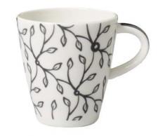 villeroy & boch 1035251420 caffè club floral tasse à expresso gris - Vaisselle