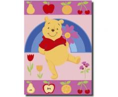 Tapis FRUITY POOH Tapis Enfants par Winnie 95 x 133 cm - Tapis et paillasson